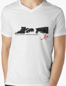 EYES OF COURAGE Mens V-Neck T-Shirt