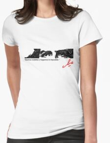 EYES OF COURAGE Womens Fitted T-Shirt