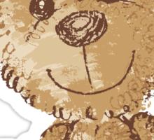 Teddy bear sitting Sticker