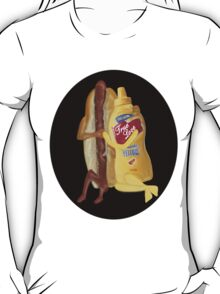 HOT DOG!WE GO TOGETHER EVERLASTING LOVE TEE SHIRT T-Shirt