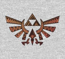 Tribal Triforce by kagcaoili