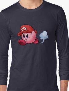Mario Kirby Long Sleeve T-Shirt