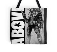 From Above Comic Book Tote Bag