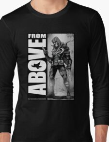 From Above Comic Book Long Sleeve T-Shirt