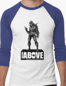 From Above Comic Book - character 01 Men's Baseball ¾ T-Shirt