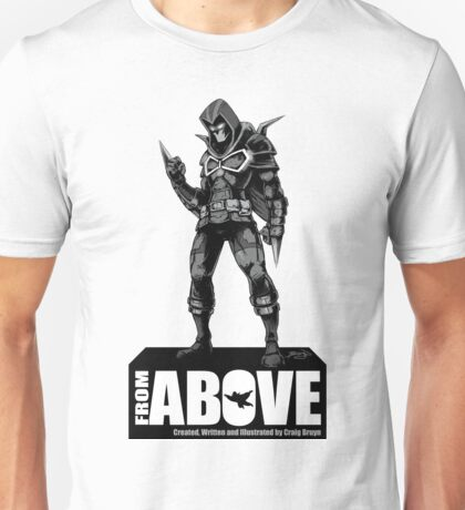 From Above Comic Book - character 01 Unisex T-Shirt