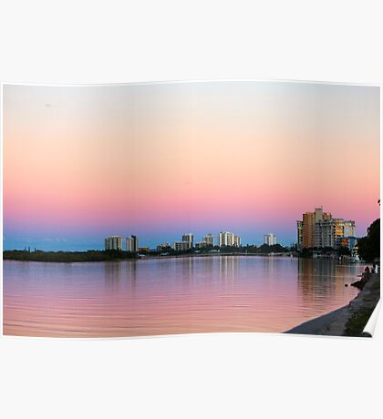 Cotton Tree Evening Poster