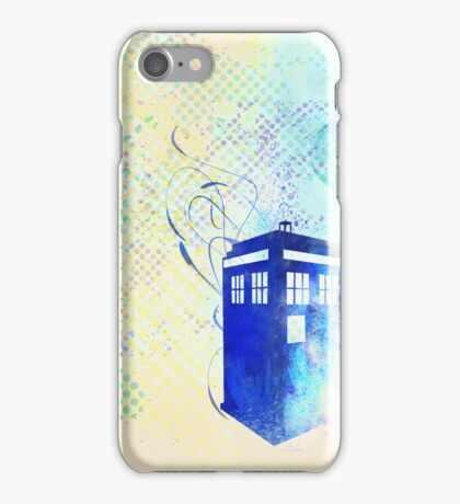 Pop Tardis iPhone Case/Skin