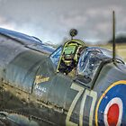 Supermarine Spitfire MkIXb Cockpit by Nigel Bangert