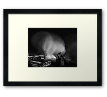 "Hot air balloon""deflated"" Framed Print"