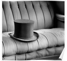 Silk Top Hat Poster