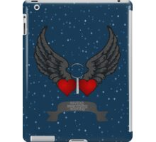 Saving. Searching. Solving. iPad Case/Skin