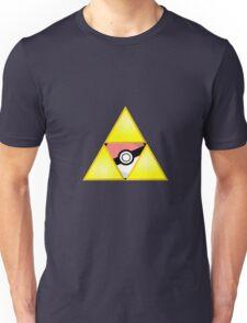 Zelda Triforce ( courage, wisdom, power, and pokemon ) Unisex T-Shirt
