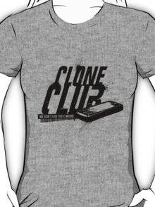 Clone Club (black) T-Shirt