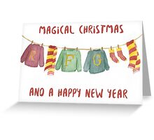 from weasley family to you Greeting Card