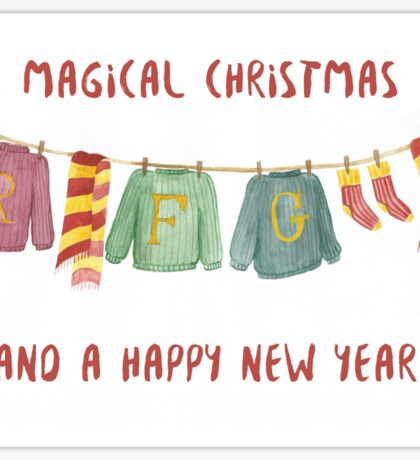 from weasley family to you Sticker