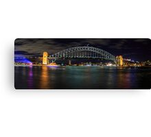 Sydney Harbour Bridge Panorama Canvas Print