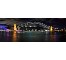 Sydney Harbour Bridge Panorama Photographic Print