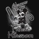 Tragic Kingdom (Black+White) by scott sirag