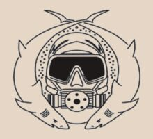 Special Forces Scuba Diver small design by BelfastBoy