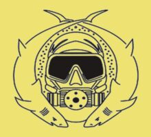 Special Forces Scuba Diver small design One Piece - Short Sleeve