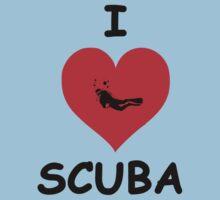 I LOVE SCUBA by BelfastBoy