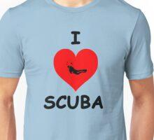 I LOVE SCUBA Unisex T-Shirt