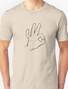 Dive sign for OK Unisex T-Shirt