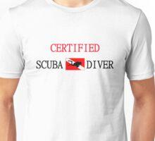Certified Scuba Diver  Unisex T-Shirt