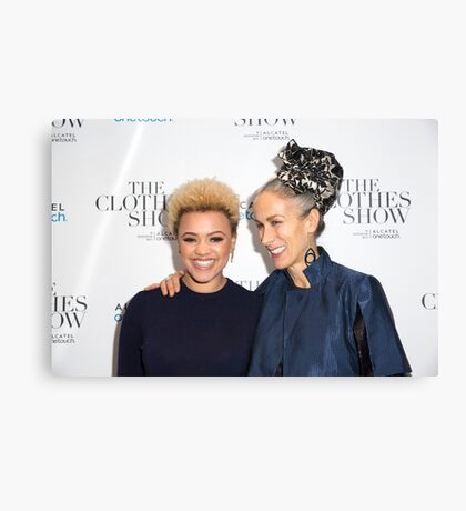 Gemma Cairney and Caryn Franklin Canvas Print