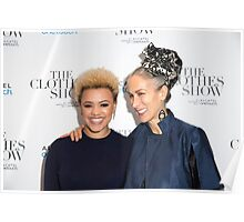 Gemma Cairney and Caryn Franklin Poster
