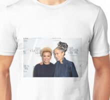 Gemma Cairney and Caryn Franklin Unisex T-Shirt