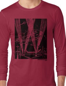 Night Traffic, Whitehall Hoverport Long Sleeve T-Shirt