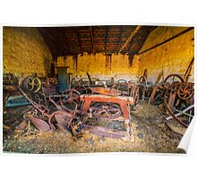 Blacksmith's Shed. Poster