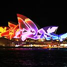 Vivid 2013 - Opera House 1 by Kezzarama