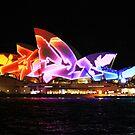 Vivid 2013 - Opera House 1 by Kezzarama
