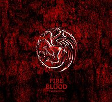 Targaryen Fire and Blood by neutrone