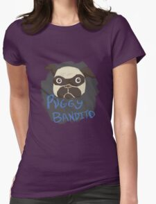 Puggy Bandito Womens Fitted T-Shirt