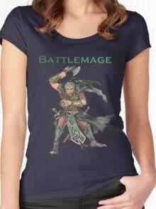 Battlemage Women's Fitted Scoop T-Shirt