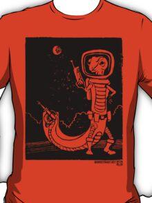 Share Favorite Dr. Johan Von Skinkely Investigates Sector 12 (Black Version) T-Shirt