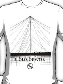 I Did Delta Black T-Shirt