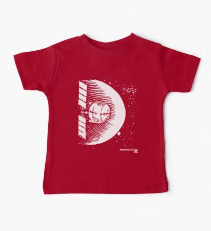 Orbital Satellite Delta-6 (White Version) Baby Tee