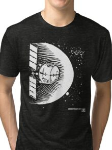 Orbital Satellite Delta-6 (White Version) Tri-blend T-Shirt