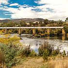 Derwent River, Tasmania #2 by Elaine Teague