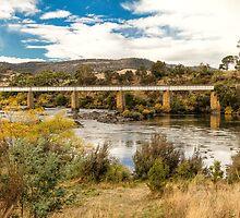 Derwent River, Tasmania #2 by Elaine Teague
