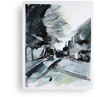Elm Road 2 Canvas Print