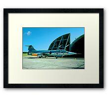 Fiat RF-104G Starfighter 21+21 Framed Print
