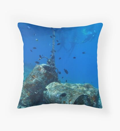 Bunaken Island - Sulawesi, Indonesia Throw Pillow