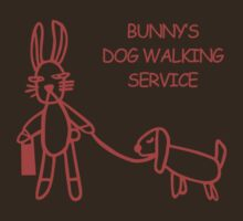 Bunny's Dog Walking Service (Buffy the Vampire Slayer) by jezkemp