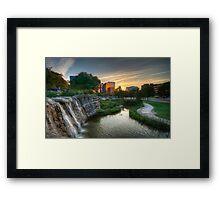 Pioneer Plaza Framed Print